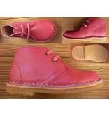 Jolins Schuhe Kinder Boots KOEL fuchsia Gr. 21 Innenmass 13,6 cm pflanzliche Gerbung, Echte Kreppsohle aus Naturkautschuk