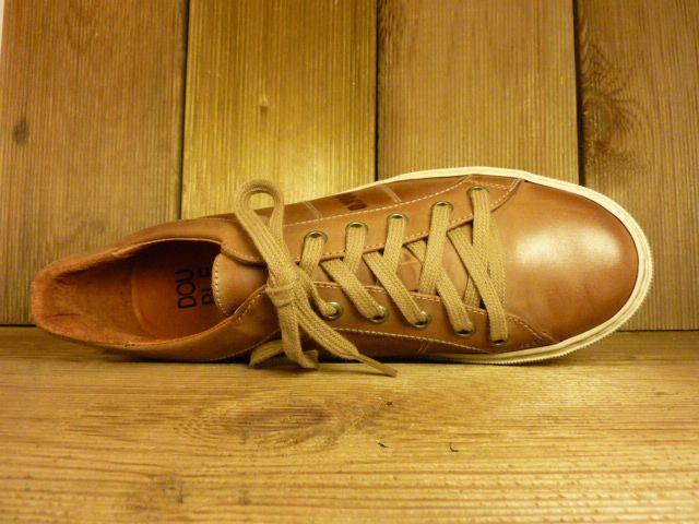 Double You Schuhe by Dessy Schuhe Sneaker Sportschuhe braun vegetabil pflanzlich gegerbtes Futter aus Leder Wechselfussbett