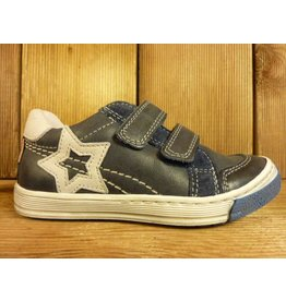 Froddo Kinderschuhe Sportschuhe Sneaker blau aus echtem Leder mit Lederfussbett Kinderschuhe Halbschuhe Klett