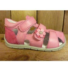 Froddo Kinderschuhe Sandale Lauflerner rosa pink flexible Sohle Leder Lederfussbett