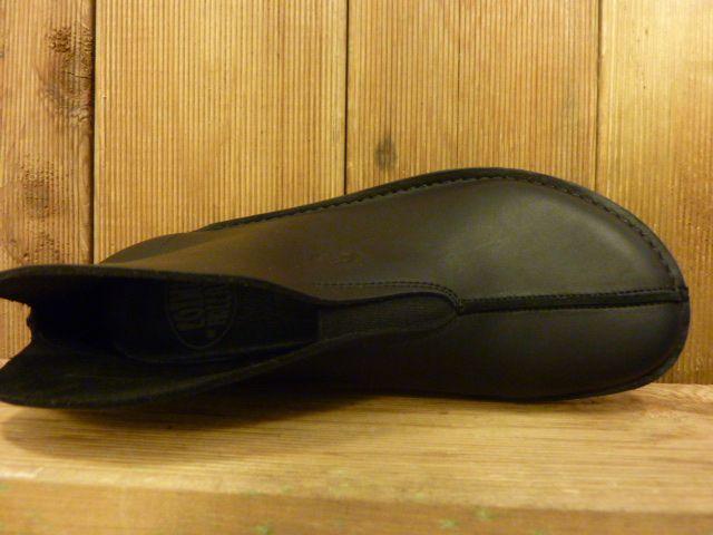 Loints of Holland Slipper Schlupfschuh schlicht und extra dickes und weiches Leder mit Wechselfussbett Größe 40