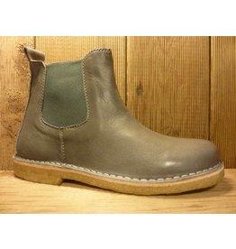 Jolins Schuhe Boots Kaz pflanzliche Gerbung echte Kreppsohle grau