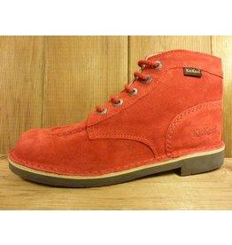 Kickers Schuhe Boots Kick rot Boots Herren oder Damen mit Kautschuksohle