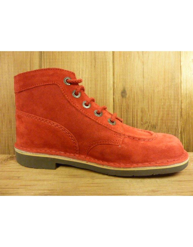 Kickers Schuhe Boots Kick Jeansboots rot Boots Herren oder Damen mit Kautschuksohle