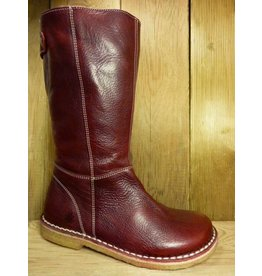 Grünbein Schuhe Stiefel Laure bordeaux echte Natur-Kreppsohle auch für Einlagen