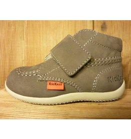 Kickers Schuhe Bilou grau gris Schuhe für Laufanfänger