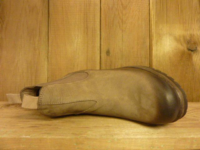Lazamani Schuhe Stiefeletten braun taupe Chelsea Plateauabsatz