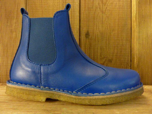 Jolins Schuhe Chelsea Boots CAL kobaltblau Schlupfform pflanzliche Gerbung
