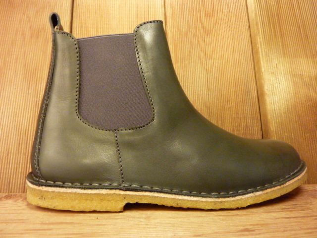 Jolins Schuhe Boots Kaz pflanzliche Gerbung echte Kreppsohle anthrazit