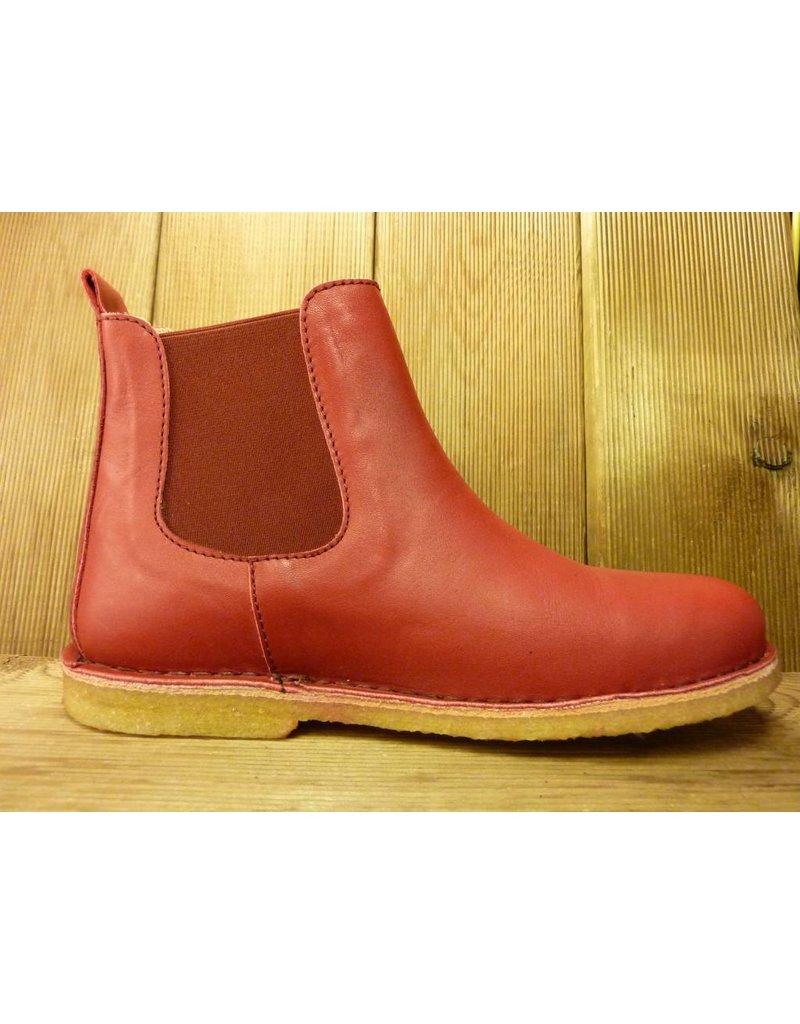 Jolins Schuhe Boots Kaz pflanzliche Gerbung echte Kreppsohle rot