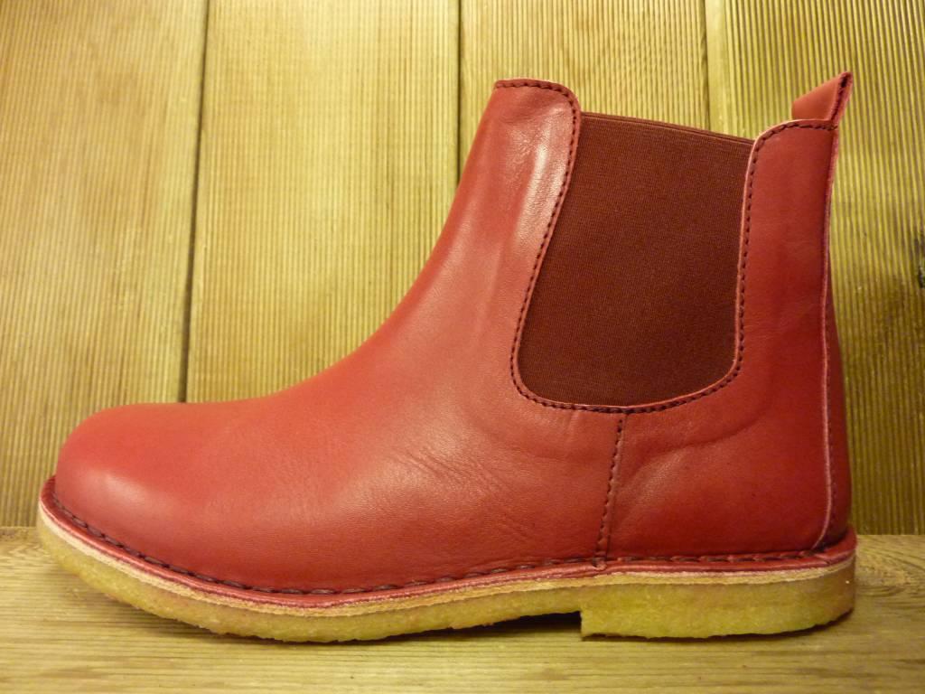 Jolins Schuhe Roter Boot Kaz pflanzliche gegerbt mit  echter Kreppsohle