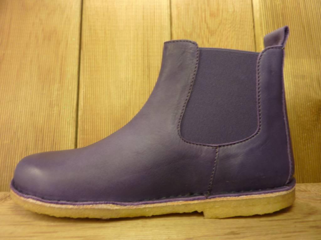 Jolins Schuhe Boots Kaz pflanzliche Gerbung echte Kreppsohle lila