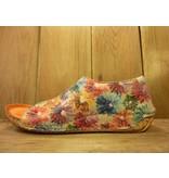 Gemini Sandalette in Blumenmuster Vintage-Stil Fussbett Hallux freundlich