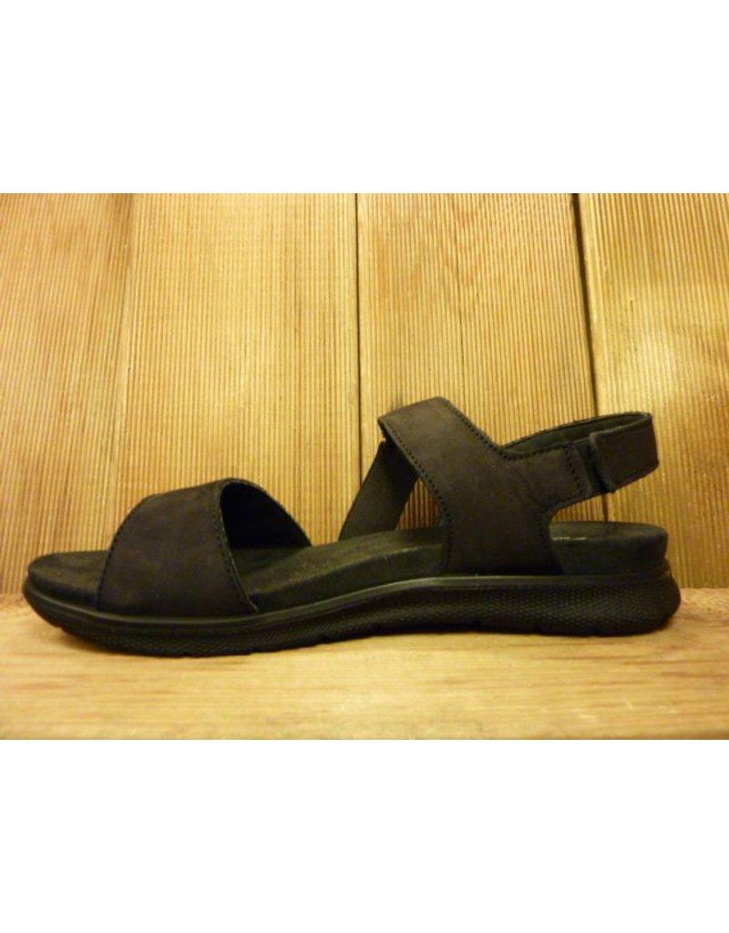 IMAC IMAC Sandale in schwarz mit weichem Fussbett
