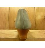 Double You Schuhe by Dessy Pumps blau grau mit Absatz und pflanzlich gegerbtem Innenfutter