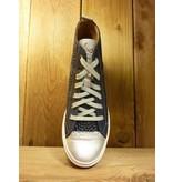 Double You Schuhe by Dessy Schuhe Sneaker Sportschuhe blau vegetabil pflanzlich gegerbtes Futter aus Leder mit Wechselfussbett