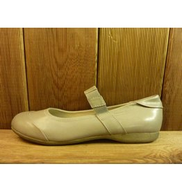 Josef Seibel Schuhe Ballerina grau Damen mit elastischem Riemen