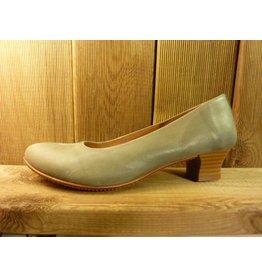 Double You Schuhe by Dessy Pumps Damen grau aus Leder mit Trichterabsatz
