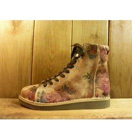 Grünbein Schuhe Boots Louis Flower Beige