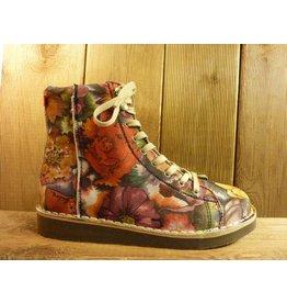 Grünbein Schuhe Boots Louis Flower XIV bunt