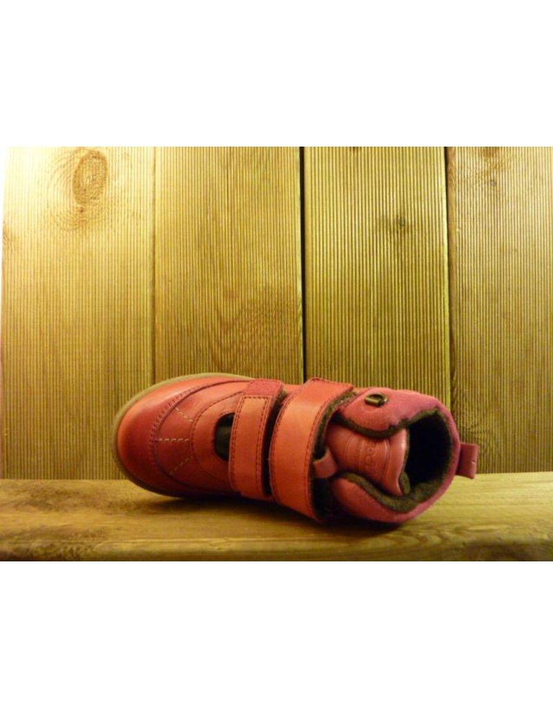 Froddo Kinderschuhe Pinke Mädchenboots pflanzlich gegerbt und wasserfest mit rutschresistenter Gummisohle