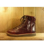 Grünbein Schuhe Boots Louis rot mit Ranken Schnürschuhe in grün auch für Einlagen zwiegenähter Lederschuhe mit Ranken