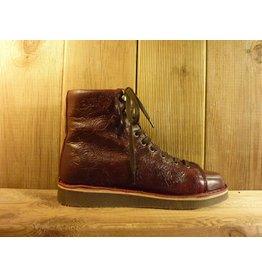 Grünbein Schuhe Boots Louis rot mit Ranken