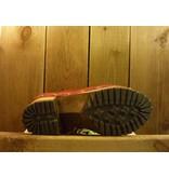 Grünbein Schuhe Clogstiefel Karola Rot mit robuster Echtholzsohle und sehr weichem Leder Auch geeignet für Einlagen