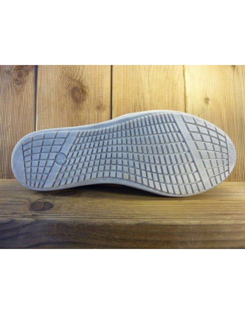 Double You Schuhe by Dessy Bunt karierter Slipper aus Leder mit herausnehmbarer Innensohle