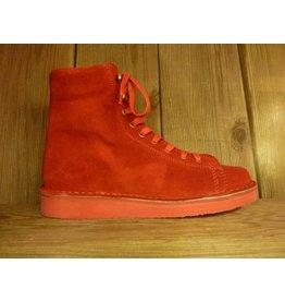 Grünbein Schuhe Boots Louis Rot auch für Einlagen