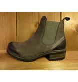 Lazamani Schuhe Stiefeletten grau Chelsea Plateauabsatz