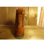 """Birkenstock Camelfarbene Schnür-Stiefeletten """"Gilford High"""" von Birkenstock aus Naturleder mit Birkenstock-Laufsohle, Schnürung und  Lammfell-Innenfutter"""