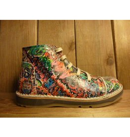 Billy Rock Schuhe Boots BOB  Graffiti