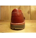 Billy Rock Schuhe Billy Rock  - Roter Halbschuh Ted  mit Klettverschluss