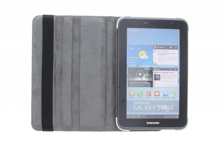 Samsung Galaxy Tab 2 7.0 hoesje - Witte 360° draaibare tablethoes