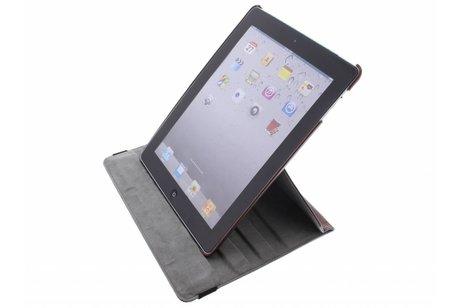 Bruine tablethoes met een 360° draaibare houder voor de iPad 2 / 3 / 4