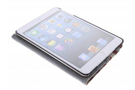 360° draaibare tablethoes met Amerikaanse vlag voor de iPad Mini / 2 / 3