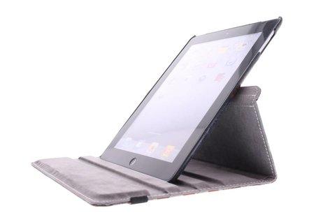 360° draaibare tablethoes Amerikaanse vlag iPad 2 / 3 / 4