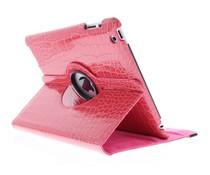 360° draaibare krokodil tablethoes iPad 2 / 3 / 4