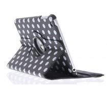 360° draaibare polka dot tablethoes iPad Mini / 2 / 3