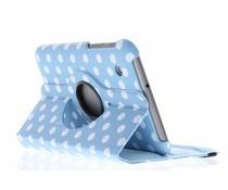 360° draaibare polka dot tablethoes Galaxy Tab 2 7.0