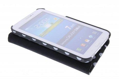Samsung Galaxy Tab 3 7.0 hoesje - Zwarte 360° draaibare hoes
