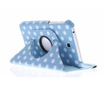 360° draaibare polka dot tablethoes Galaxy Tab 3 7.0