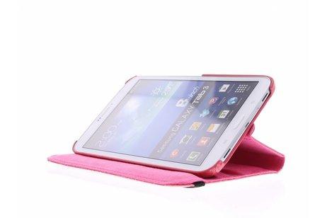 Samsung Galaxy Tab 3 8.0 hoesje - 360° draaibare krokodil tablethoes