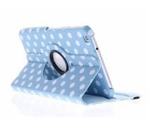 360° draaibare polka dot tablethoes Galaxy Tab 3 8.0