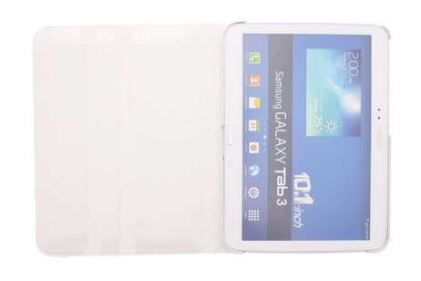 Samsung Galaxy Tab 3 10.1 hoesje - 360° draaibare krokodil tablethoes