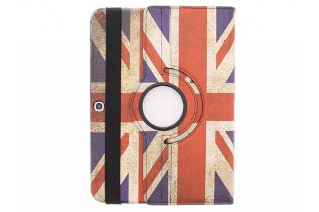 Samsung Galaxy Tab 3 10.1 hoesje - 360° draaibare tablethoes Britse