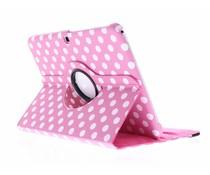 360° draaibare polka dot tablethoes Galaxy Tab 3 10.1