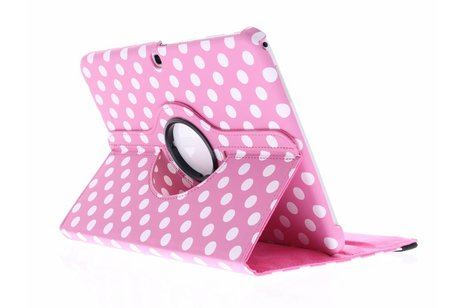 Samsung Galaxy Tab 3 10.1 hoesje - Roze 360° draaibare tablethoes