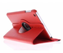 Rood 360° draaibare hoes iPad Mini / 2 / 3